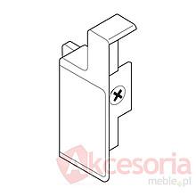 Mocowania ZIF.3000 frontu wewnętrznego szuflady METABOX Wysokość M Materiał: tworzywo Kolor / Powierzchnia: kremowo-biały RAL 9001 Sposób mocowania z...