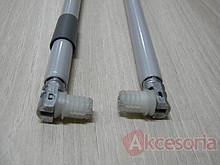 TANDEMBOX Relingi podłużne do długości 550mm szary wykonany z aluminium. Wymiar relingu -rura o średnicy zewnętrznej 11 mm Zakres regulacji frontu - +/-...