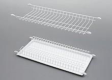 Ociekarka STANDARD 1 w kolorze srebrny dwupoziomowa wraz z tacką stanowi część wyposażenia szafek kuchni. Do szafki 60cm. Nawet jeśli nie posiadasz...