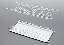 Ociekarka STANDARD 1 w kolorze białym dwupoziomowa wraz z tacką do zabudowy stanowi część wyposażenia szafek kuchni. Do szafki 80cm. Nawet jeśli...