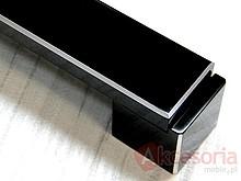 Uchwyt Aluminiowy US48 Czarny-Połysk Z Przetarciami Rozstaw320mm