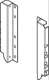 Z30D000S jedwabiście-biały uchwyt do drewnianej ścianki tylnej TANDEMBOX System szuflad: TANDEMBOX Intivo i Antaro wysokość: 183 mm Wymiary...