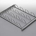 Stelaż wysuwny na obuwie ALFA metal lakier srebrny Wyrób może uzupełniać wyposażenie szafy garderobnianej. Stelaż ten umożliwia przechowywanie obuwia,...