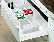 Szuflada InnoTech z organizerem OrgaStore 100 to idealny duet stworzony z myślą o przechowywaniu np. produktów żywnościowych. Dzieli on przestrzeń...