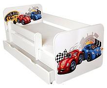 Łóżka dziecięce ze zdejmowaną barierką -wygoda i bezpieczeństwo. Możliwość zdjęcia barierka na czas zabawy dziecka oraz ponownego założenia na...