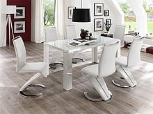 TONI to minimalistyczny stół, który sprawdzi się w najróżniejszych wnętrzach. Prosta stylistyka i uniwersalna kolorystyka dają dużo możliwości do...