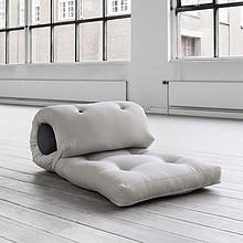 Fotel - futon z wałkiem w zestawie. Transport gratis.