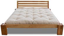 Klasyczne łóżko z ciekawymi nóżkami. Wykonane z litego drewna olchowego. Bardzo wysoka jakość wykonania. Materiał: drewno olchowe Wymiary wewnętrzne:...