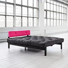 Proste drewniane łóżko z miękkim zagłówkiem! Dostępne w 3 rozmiarach i wielu kolorach tapicerki. Materac Futon Standard i zagłówek w cenie łóżka....