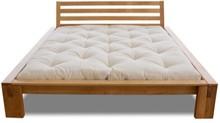 Klasyczne łóżko z ciekawymi nóżkami. Wykonane z litego drewna olchowego. Bardzo wysoka jakość wykonania.<br />Materiał: drewno...