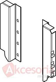 Z30C000S Uchwyty do drewnianej ścianki tylnej TANDEMBOX do montażu relingów wysokość: 151 mm Do systemu szuflad Tandembox K = 115 mm Min. wysokość...