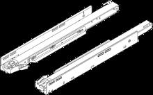 750.5001T Prowadnica korpusu LEGRABOX z TIP-ON zsynchronizowany system posuwu Pełny wysuw dł.: 500 mm Obciążenie dynamiczne: 40 kg Materiał: stal Kolor /...