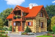 Gródek drewniany